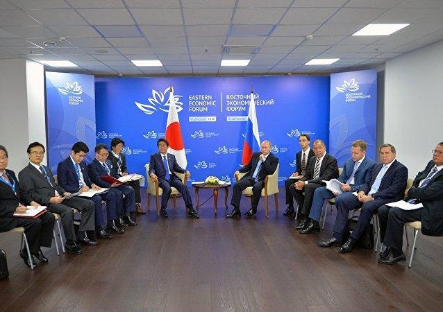 俄外长:日方提出一系列领域两国协作的详细倡议
