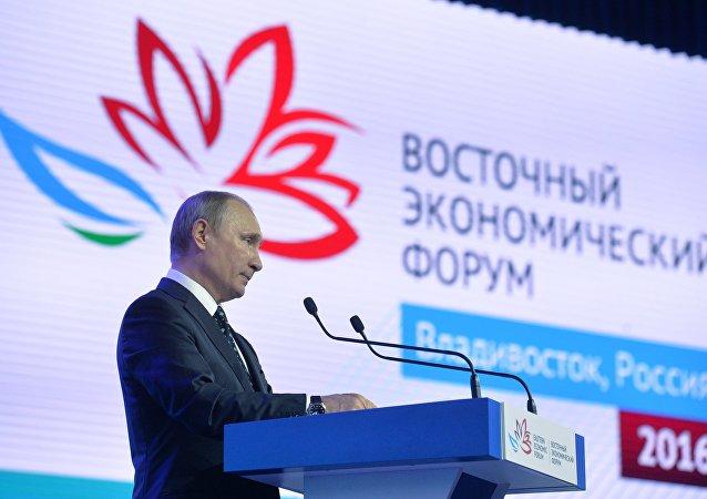 普京:远东应成为俄社会经济发展中心之一