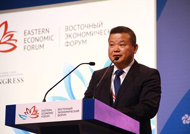 中欧农业发展有限公司执行董事刘奂麟: