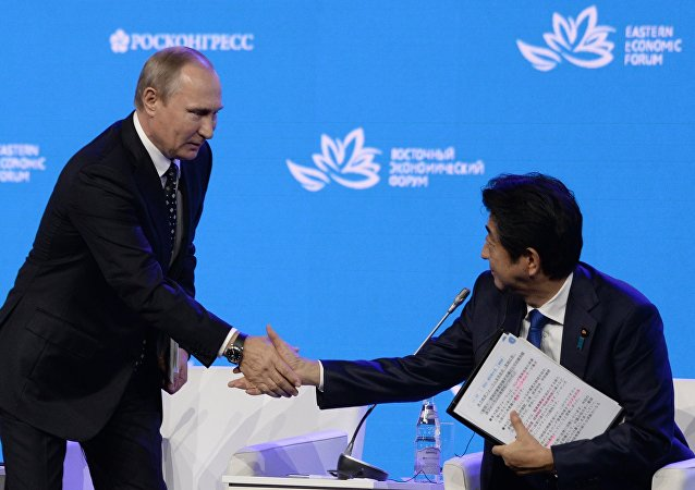 普京建议与韩日建立投资平台