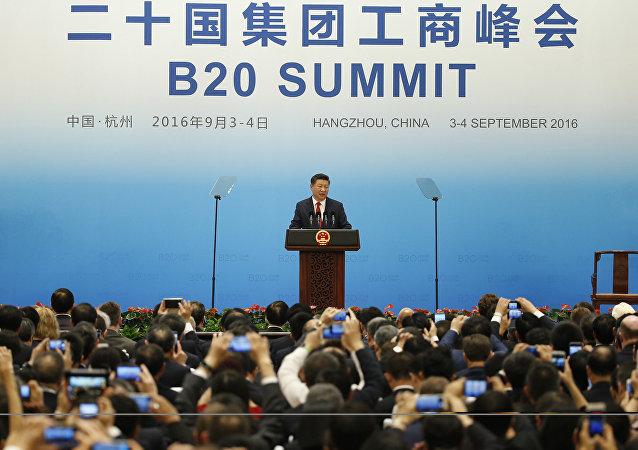 中国国家主席:中国有能力保持经济的中高速增长
