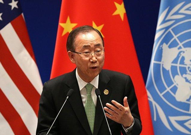"""联合国秘书长呼吁在叙有影响力的各方""""终结噩梦"""""""