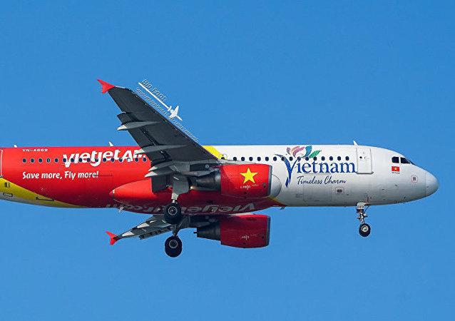 越捷航空( VietJet) 的飞机