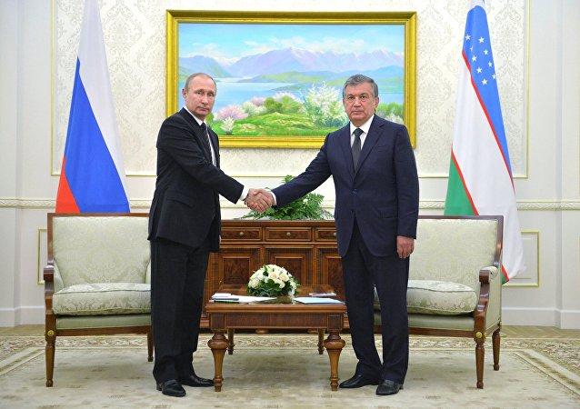 普京:乌兹别克斯坦可对俄寄予厚望 就像对最可靠的朋友
