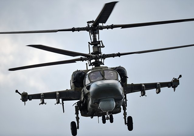 卡-52K直升机
