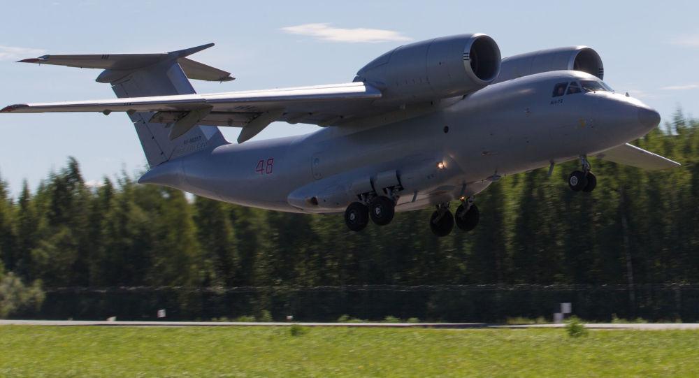 俄罗斯空天军安-72飞机