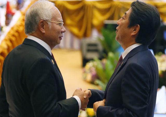 安倍晋三担忧中国的南海政策