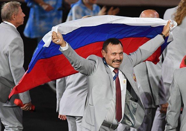 白俄残奥委会主席:白运动员举俄国旗以示对俄选手支持