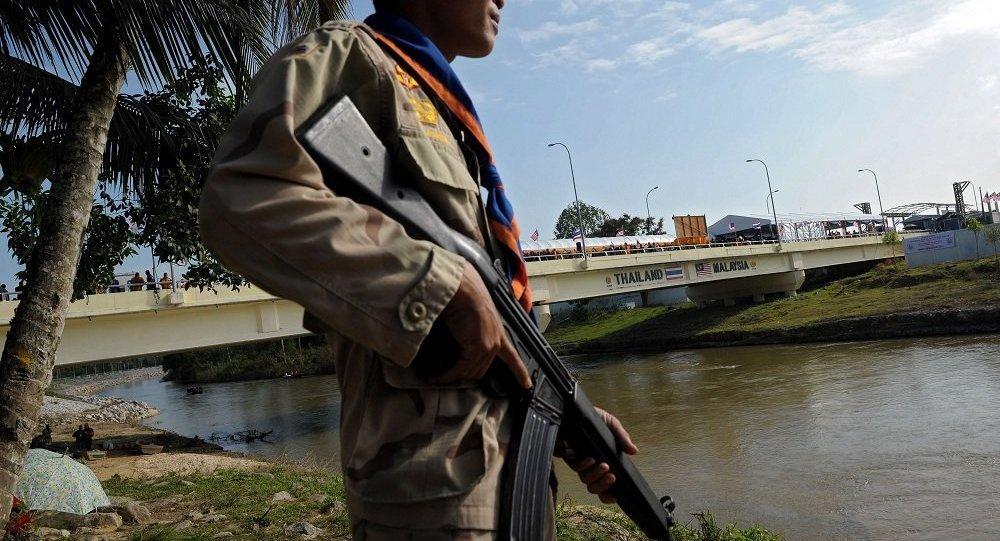 泰马两国拟建边境墙打击武器走私和偷渡