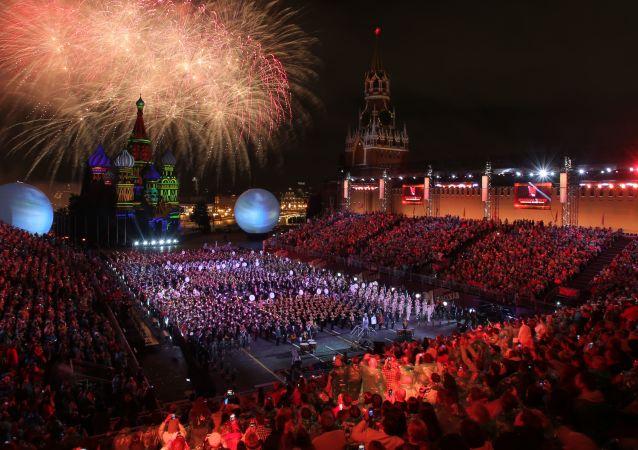 多国军乐团将在莫斯科的公园和火车站献艺