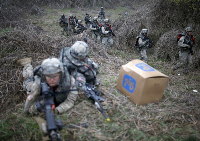 韩国汉弗莱营已成为美军在海外最大的军事基地