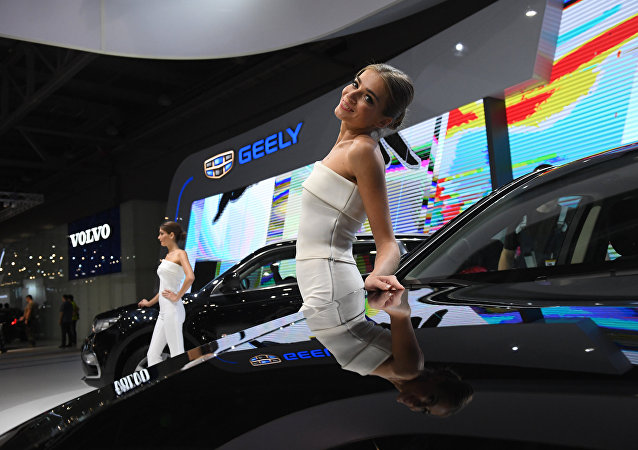 中国吉利公司2019年将在俄开售4款新车