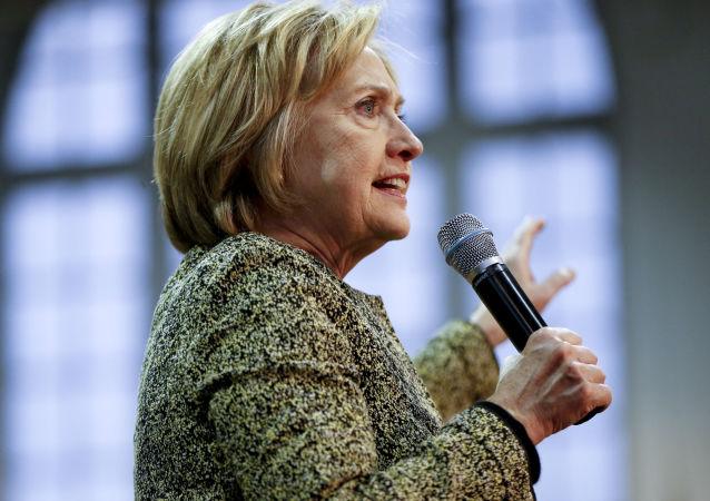 《华尔街日报》将全球混乱部分归咎于对克林顿