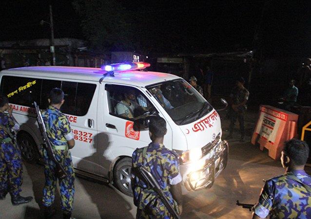 孟加拉国工厂火灾遇难者人数已上升至15人