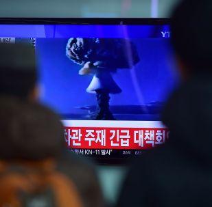 朝鲜核试验(资料图片)
