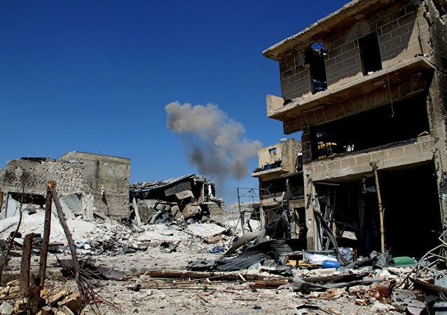 媒体:叙利亚遭空袭 至少25人死亡几十人受伤/资料图片/