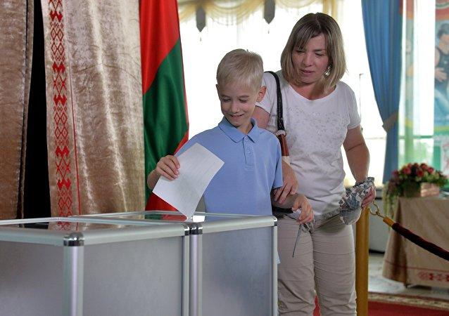 白俄全国各地选出议会议员
