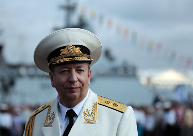 俄罗斯海军副司令亚历山大·费多坚科夫