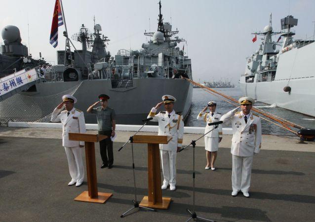 为什么中国军舰进入波罗的海?