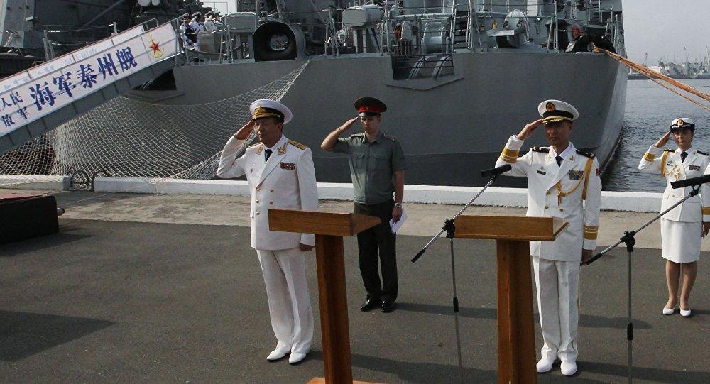 為甚麼中國軍艦進入波羅的海?
