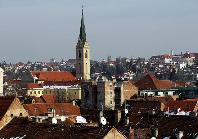 克罗地亚首都萨格勒布