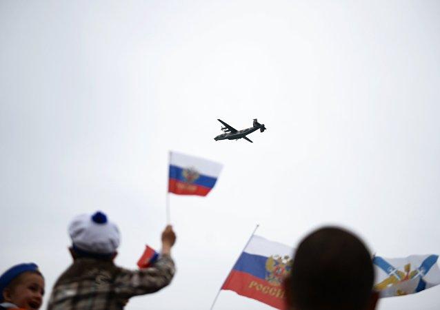 俄国防部:安-22运输机将俄军事装备运往吉尔吉斯斯坦参加上合组织演习