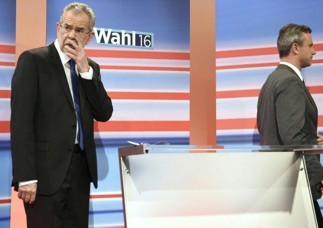 在奥地利因劣质胶水推迟总统选举