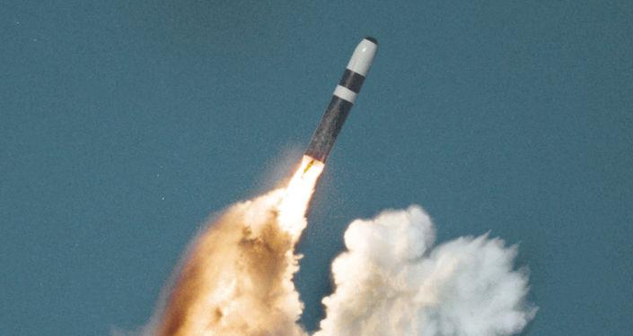 三叉戟II-D5型海基洲际弹道导弹/资料图片/