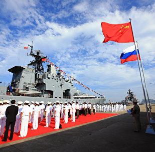 「海上聯合—2016」的海上聯合軍事演習
