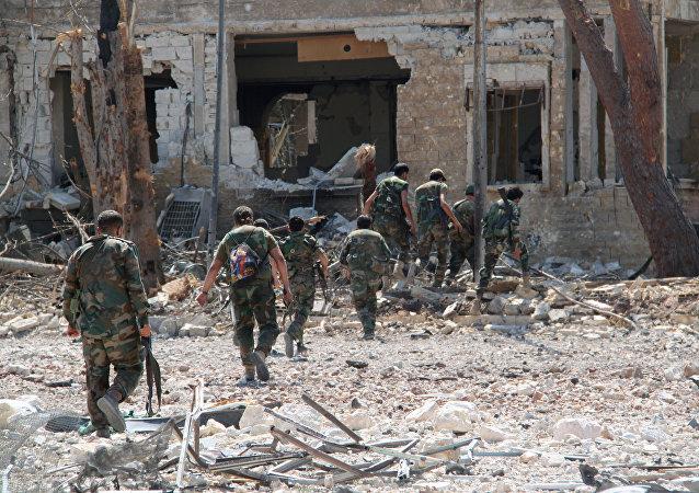 俄军总参谋部:叙利亚政府军已停火 不含恐怖组织活跃区