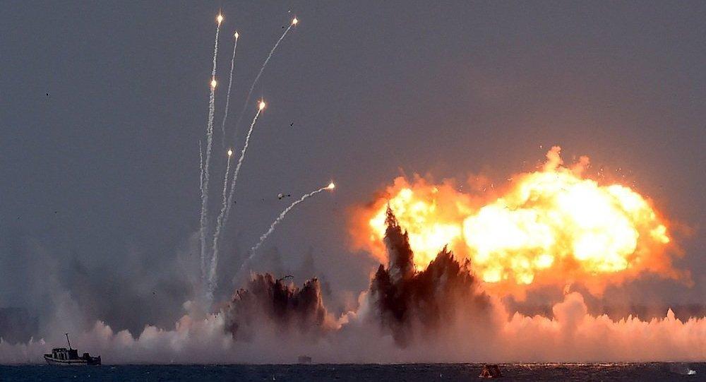 高加索2016军演演练密集空袭和防御巡航导弹项目