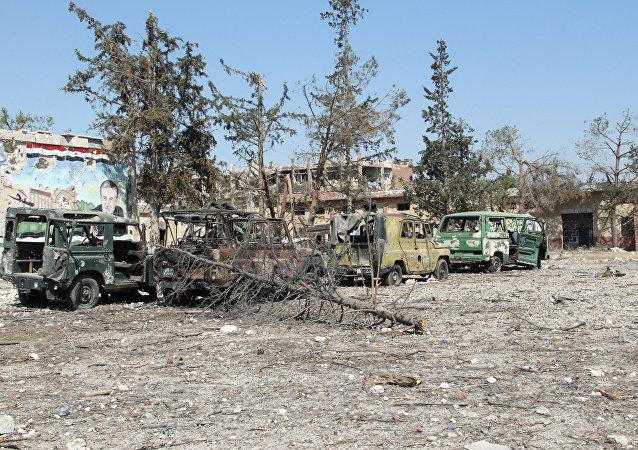 俄军总参谋部:叙利亚停火于14日上午已被武装分子破坏60次