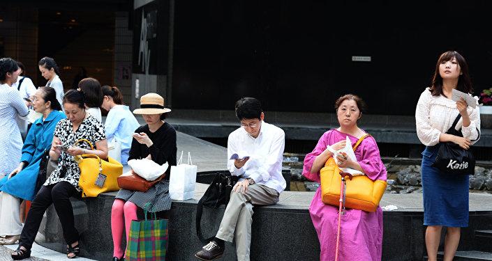 民调:超过半数的日本人支持美对朝施压