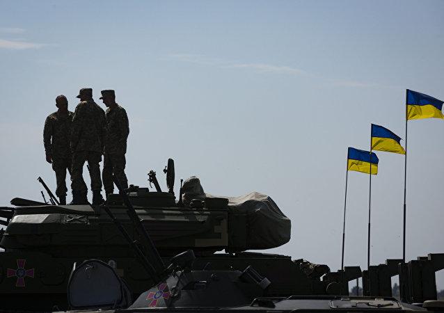 乌克兰军方称已控制顿巴斯中立区的两个村庄