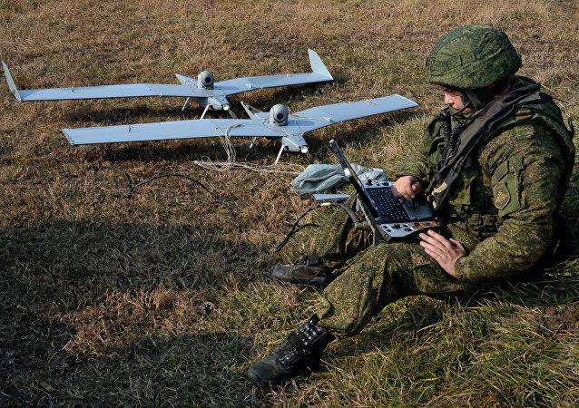 媒体:俄军用无人机装备独特软件