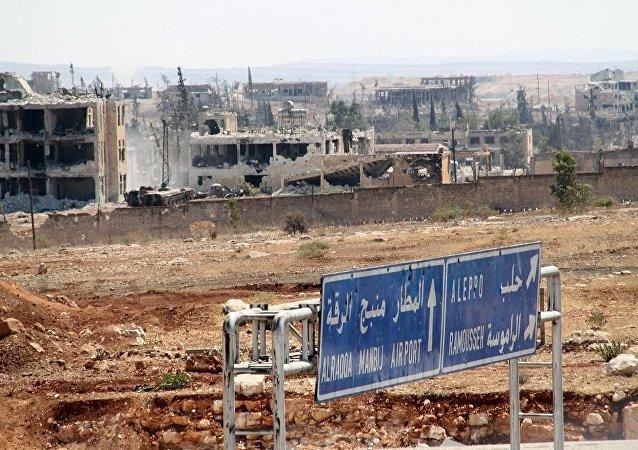 叙民兵组织:恐怖分子再次占领阿勒颇东北部哈达拉特难民营