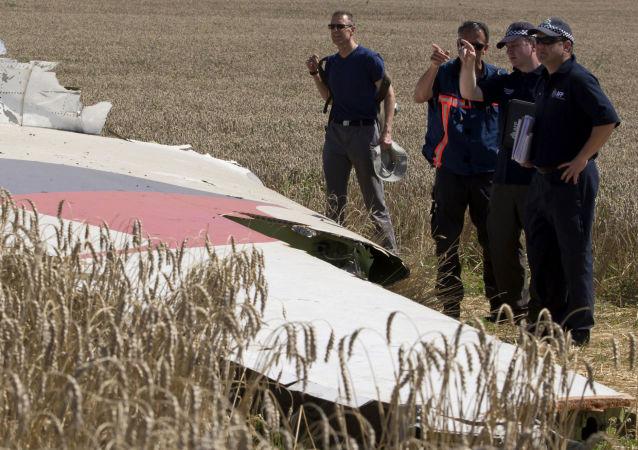 俄罗斯提供有关马航MH-17失事的新资料