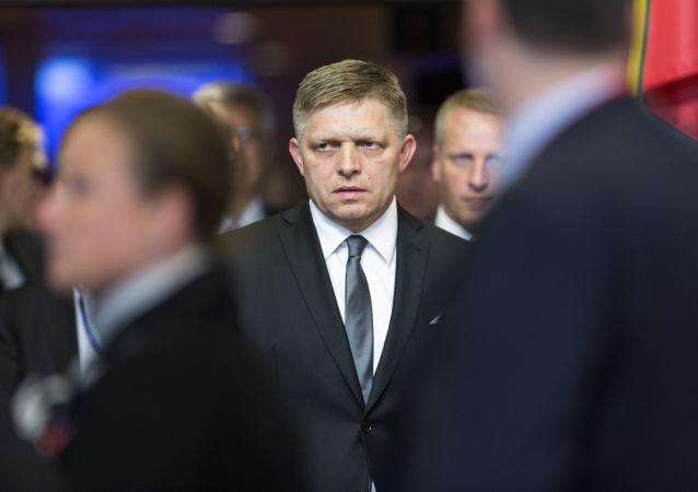 斯洛伐克总理罗伯特∙菲佐