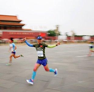 国际马拉松赛在北京