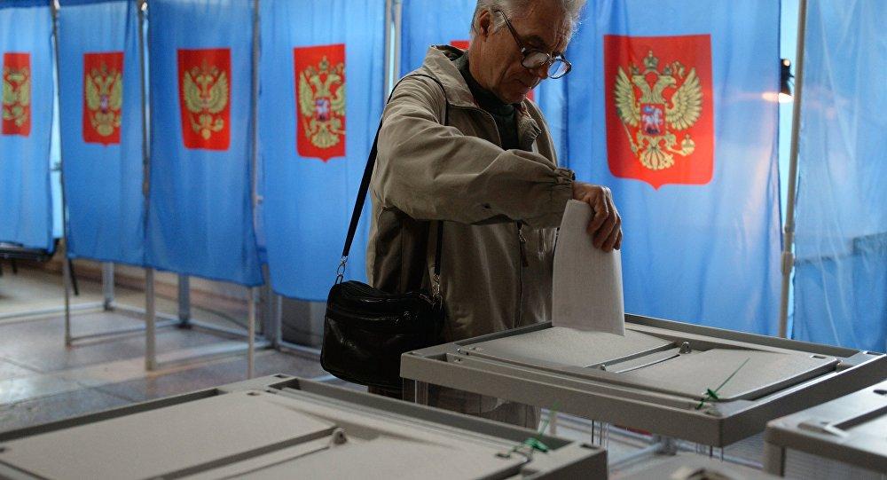 俄国家杜马选举在华投票点开放