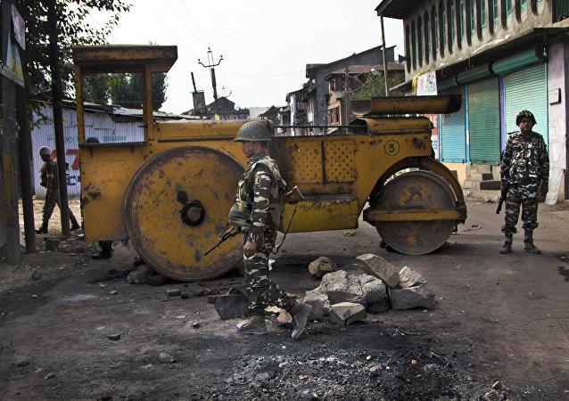 印度内务部长因克什米尔发生袭击推迟访问俄罗斯