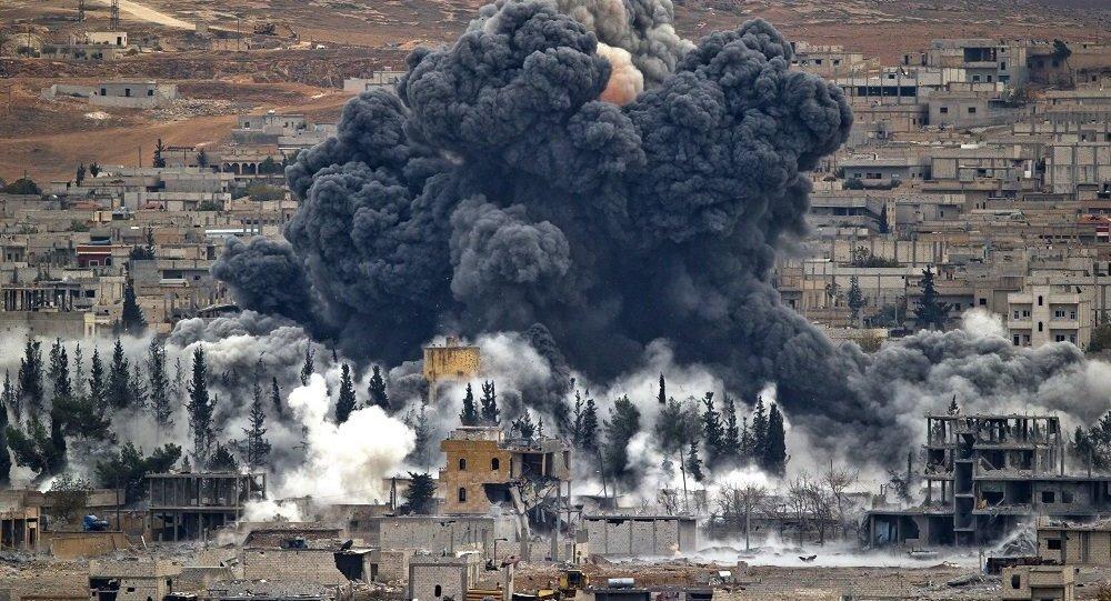 联军在三月份空袭中造成的平民死亡人数创纪录