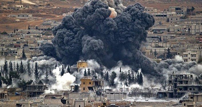 美主導聯軍空襲敘政府軍  資料圖片