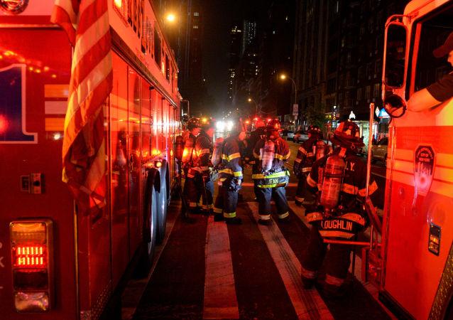 媒体:纽约高层住宅楼火灾中受伤人数至24人