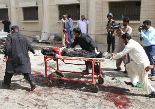 中国外交部:中方强烈谴责发生在巴基斯坦奎达的恐怖袭击