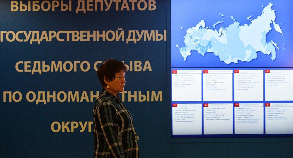 出口民调:统俄党在杜马选举中获得48.7%选票