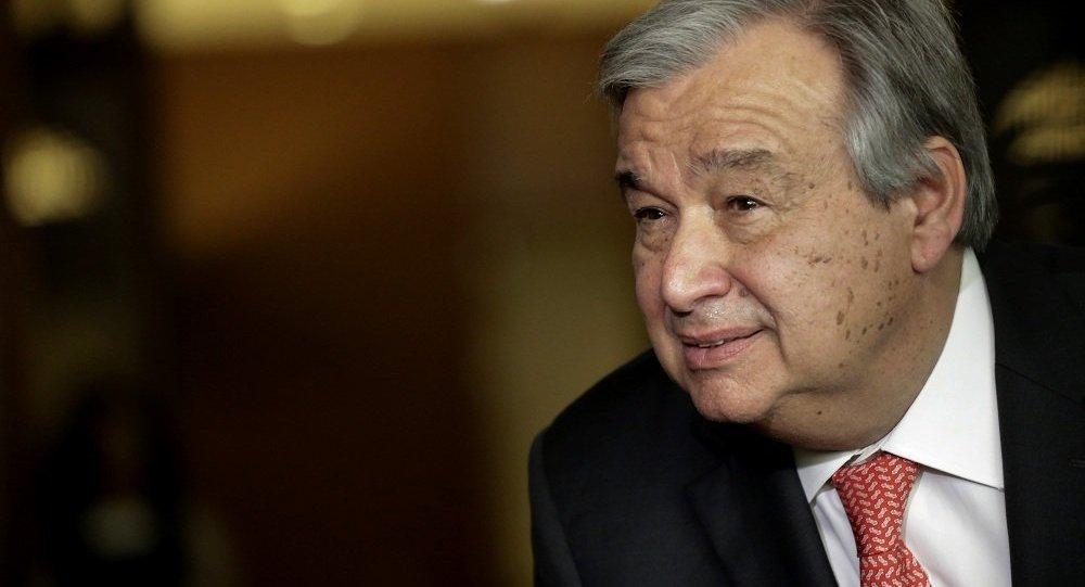 联合秘书长候选人安东尼奥·古特雷斯