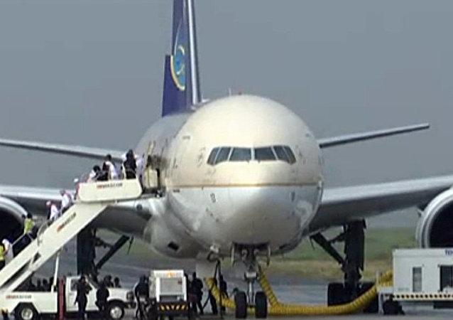 媒体:沙特阿拉伯航空公司飞机在马尼拉被劫是假消息