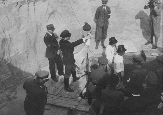 波兰发现纳粹分子留下的时间胶囊