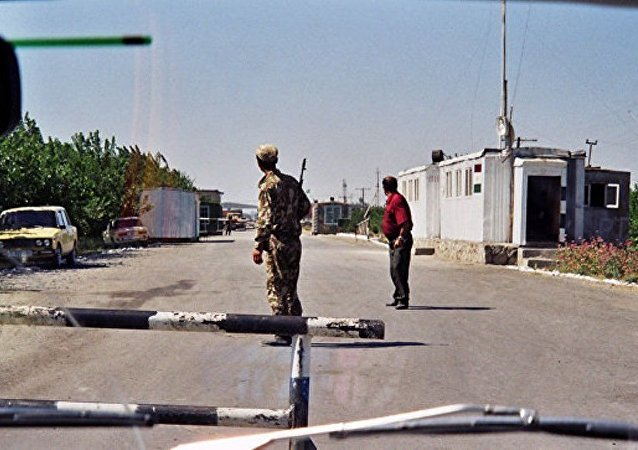 乌兹别克斯坦与吉尔吉斯斯坦边界
